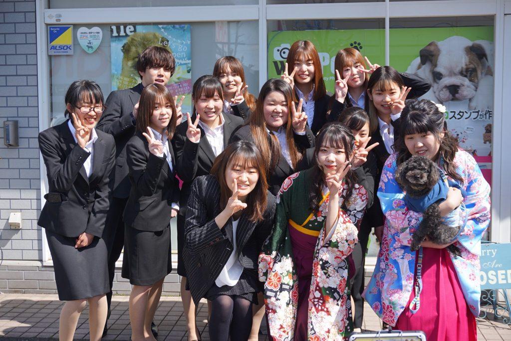 総合学科卒業式が終わりました☺